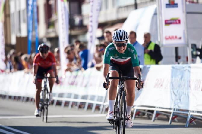 Women sport news - Elisa Longo Borghini Escapes To Second Place In Final Emakumeen Bira Stage