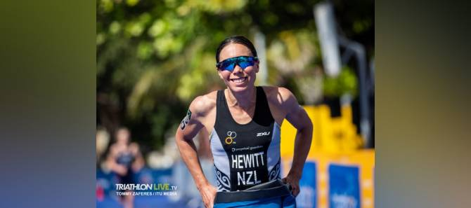 Women sport news - Emotional win for Andrea Hewitt in Santo Domingo World Cup