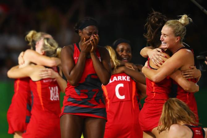 Women sport news - England make history to enter Gold Medal Match