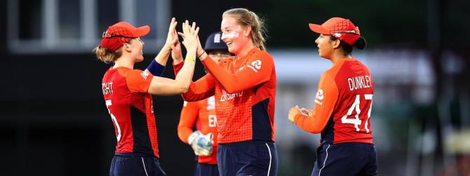 England Women Beat Bangladesh At World T20