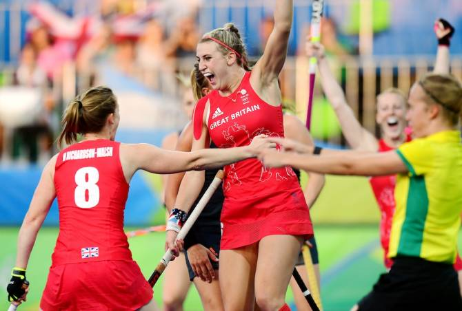 Women sport news - England women reach EuroHockey Semi Finals