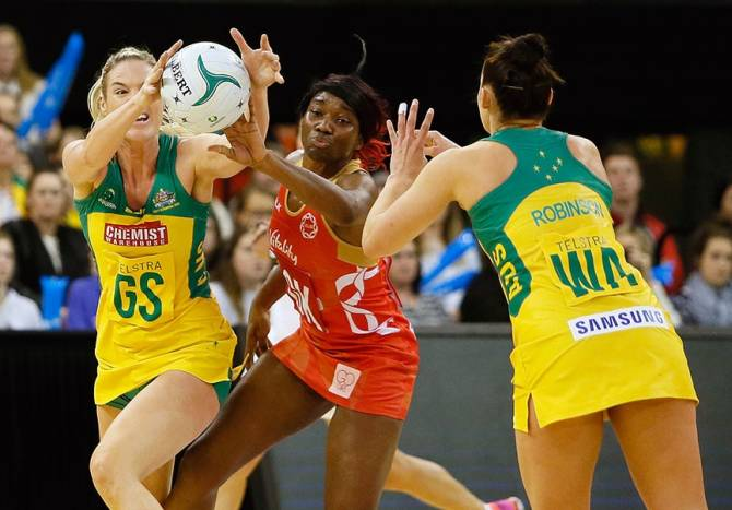 Women sport news - England's 66-46 loss to the Australian Diamonds at the inaugural Netball Quad Series