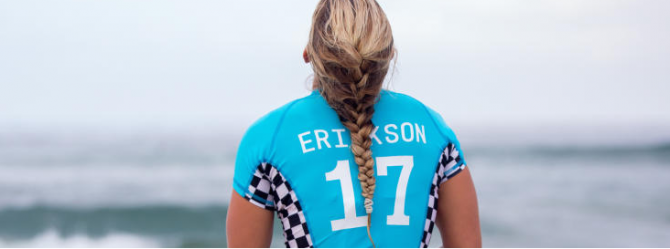 Women sport news - Erickson and Andrew Deliver Big Upses at Vans US Open of Surfing