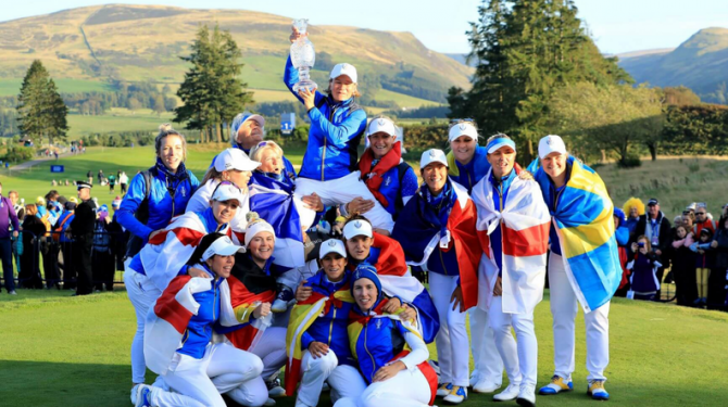EUROPE WINS SOLHEIM CUP AFTER SENSATIONAL FINISH