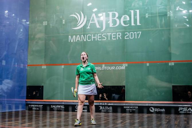Evans Sends England No.1 Massaro to a Shock Defeat at the  PSA World Championships