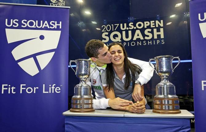 Women sport news - Farag And El Tayeb Seal U.S. Open Titles To Write Names Into Sports History