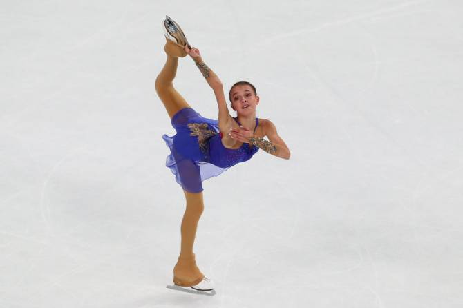 Women sport news - Firebird Shcherbakova (RUS) flies high to win second Grand Prix