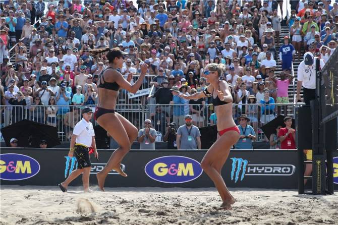 Women sport news - FIVB WC HUMANA-PAREDES & PAVAN PREVAIL ON AMERICAN SAND