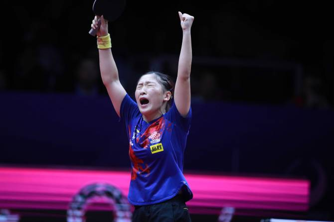 Women sport news - Five-star Liu Shiwen wins record fifth ITTF Women's World Cup!