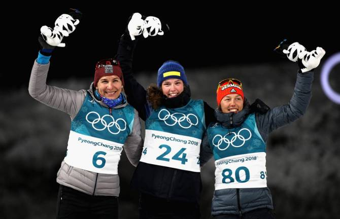 Women sport news - Flawless performance secures 15km Individual Gold for debutant Oeberg