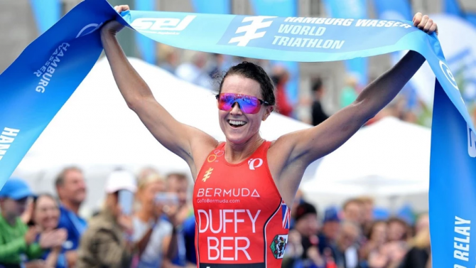 Women sport news - Flora Duffy Collects First-Career WTS Sprint Distance Win in Hamburg