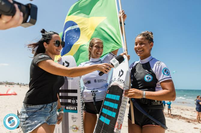 Women sport news - GKA Kite-Surf World Cup Prea: Women's Single Elimination