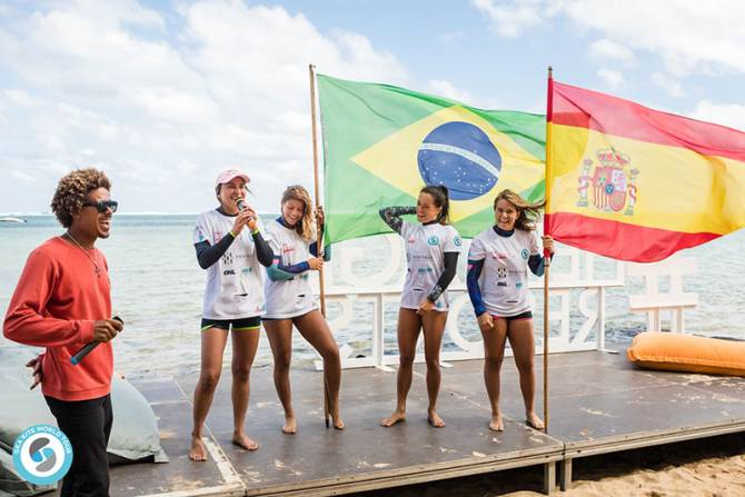 Women sport news - GKA Kite World Cup Mauritius: Day Four