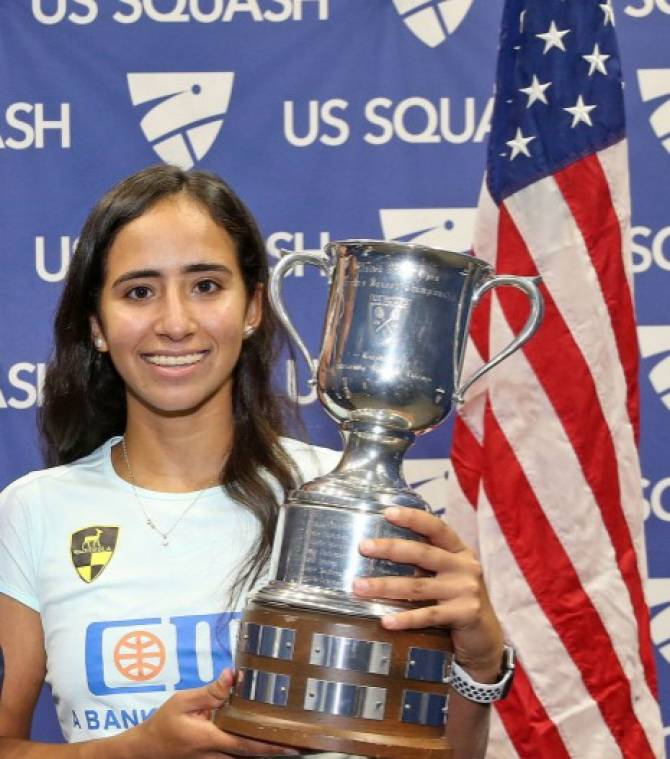 Women sport news - Gohar wins The US Open Championship