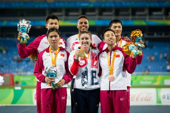 Women sport news - Great Britain's Libby Clegg clinches double gold at Rio 2016 Paralympic Games