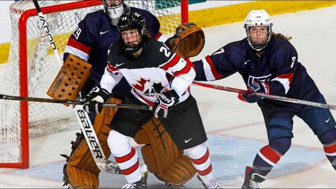 Women sport news - GUAY SCORES OT WINNER, CANADA TAKES U18 SERIES