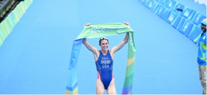 Women sport news - Gwen Jorgensen (USA) claims Olympic Gold in dominant Rio perfomance