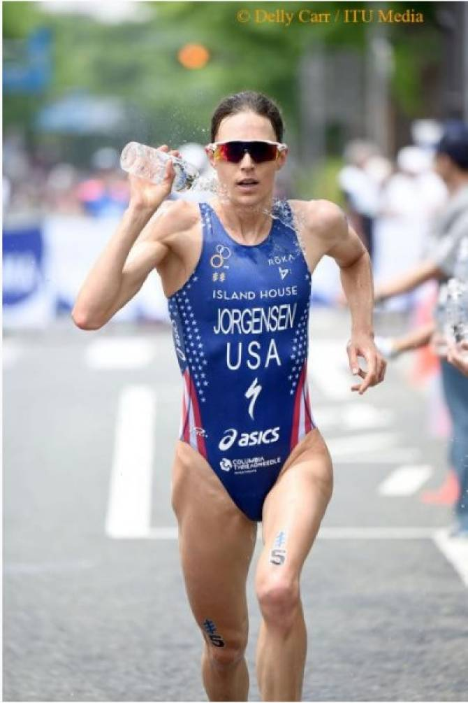 Gwen Jorgensen Usa Takes World Triathlon Yokohama Top