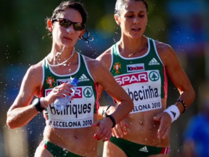 Women sport news - Henriques breaks 50km race walk world record at IAAF WorldChampionships London 2017
