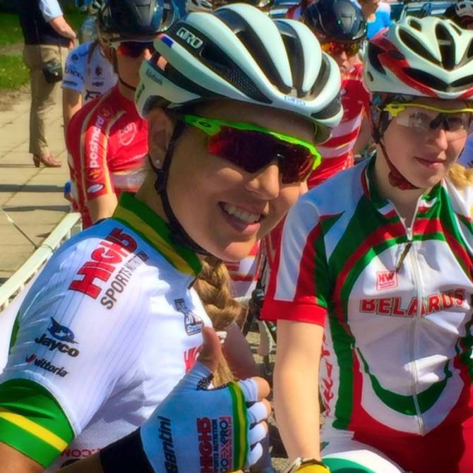 Women sport news - High5 GoExPro Australian Team supports Gillow to second overall at Gracia Orlov�