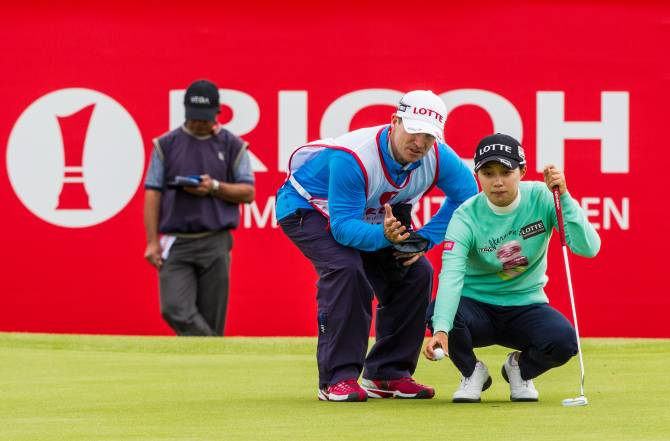 Women sport news - Hyo-Joo Kim equals lowest first round to lead by one