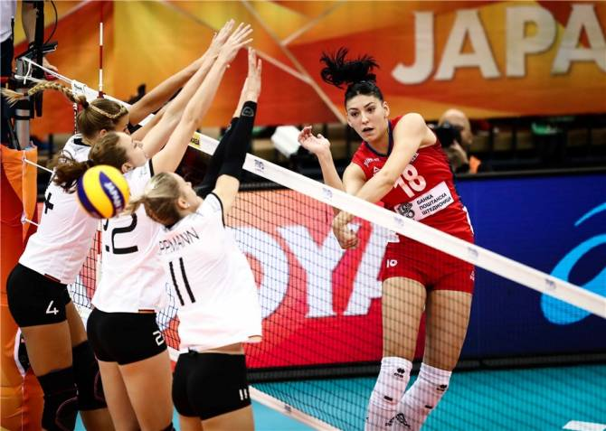 Women sport news - Impeccable Serbia advance to World Championship final six