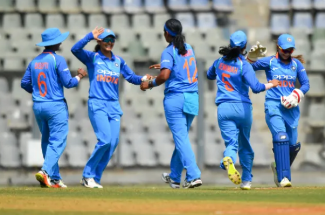 Women sport news - India Win First ODI In Mumbai