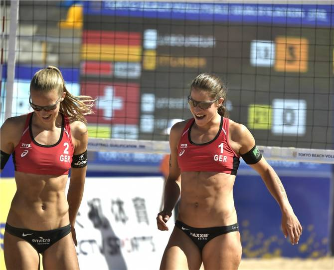 Women sport news - ITTLINGER & LABOUREUR ADVANCE UNBEATEN IN HAIYANG