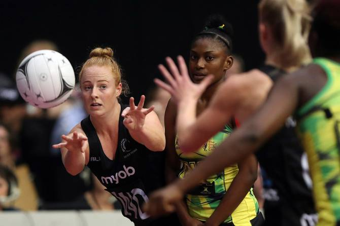 Women sport news - Jamaica fend off gallant Silver Ferns to win Taini Jamison Trophy
