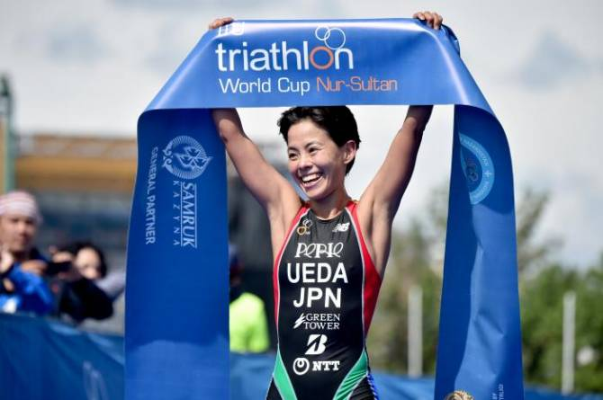 Women sport news - Japanese athlete Ueda, new member of the ITU Executive Board
