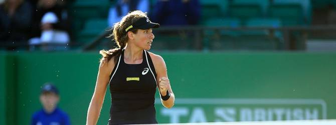 Women sport news - JOHANNA KONTA AND HEATHER WATSON TO MEET IN NOTTINGHAM