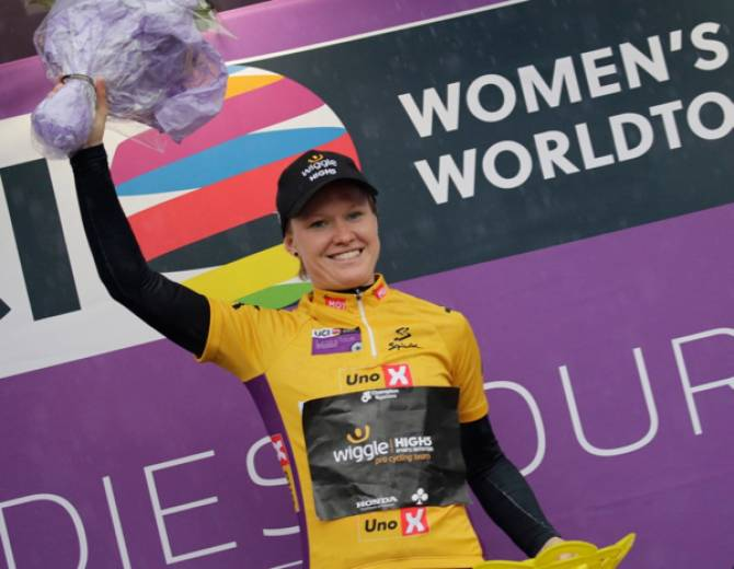Jolien D'hoore Leads Tour Of Norway After Stage One Sprint Victory