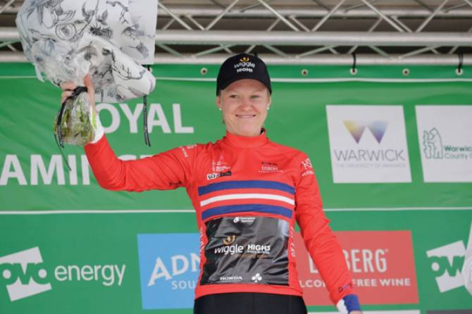 Women sport news - Jolien D'hoore Takes Second Women's Tour Jersey In Sprints Classification