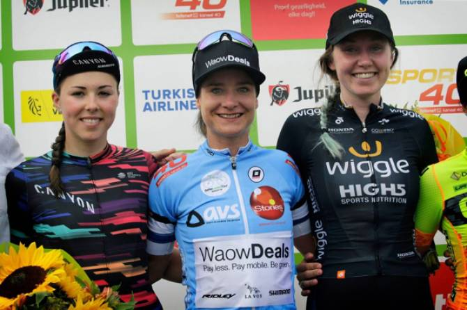 Katie Archibald Closes BeNe Ladies Tour With Third Place Overall