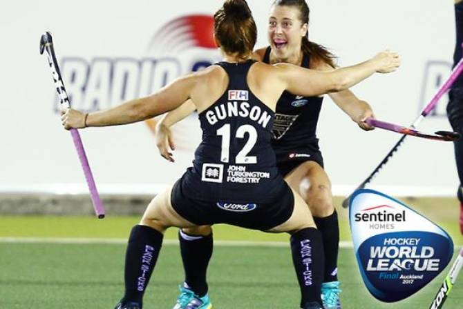 Korea and New Zealand win first quarter-finals of Sentinel Homes Women's Hockey World League Final 2017