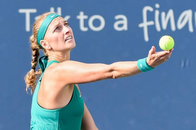 Women sport news - Kvitova cruises through in Cincinnati