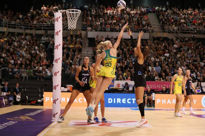 Women sport news - Late charging Silver Ferns win opening Constellation Cup match