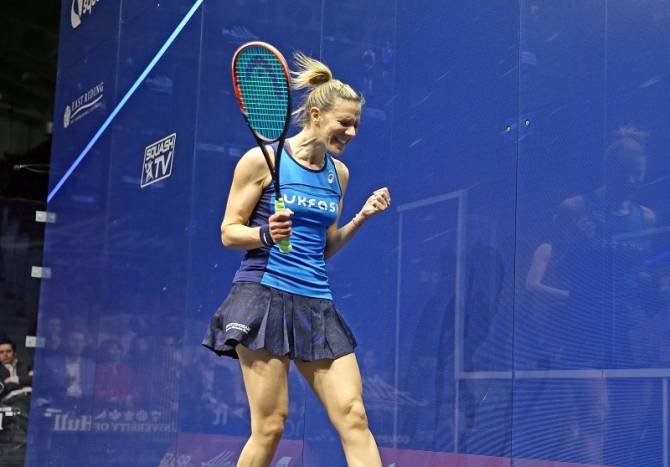 Women sport news - Laura Massaro Claims 2017 British Open Title