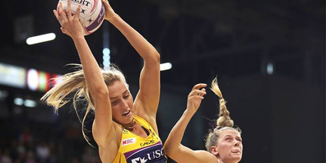 Women sport news - Lightning Spoil Swifts Hot Streak