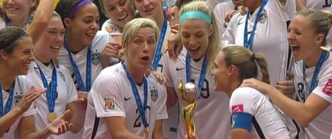 Women sport news - Lloyd-inspired USA crowned in style