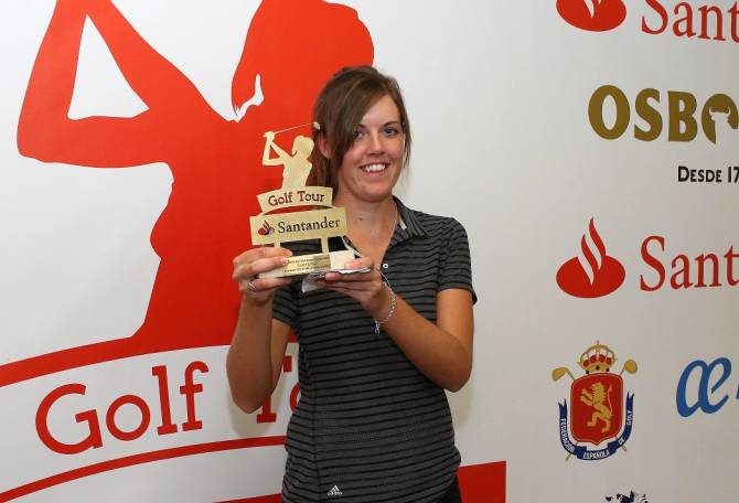 Women sport news - MacLaren Wins Santander Golf Tour LETAS La Peñaza
