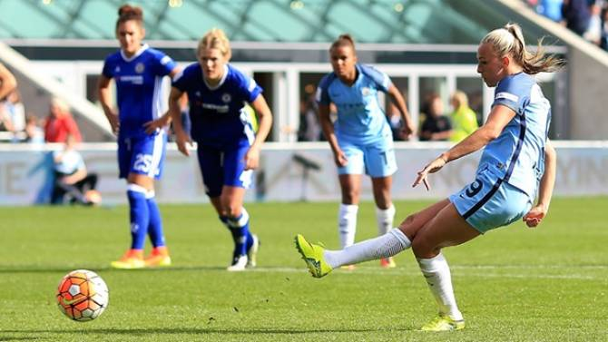 Women sport news - Manchester City beat Chelsea to win the FA WSL 1 title