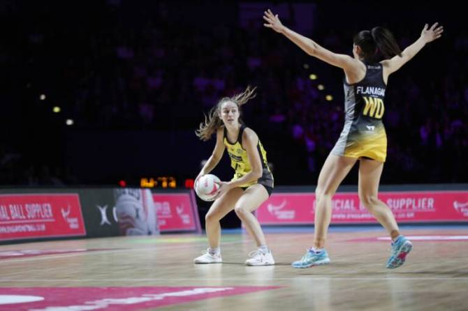 Women sport news - Manchester Thunder come out on top over Wasps Netball