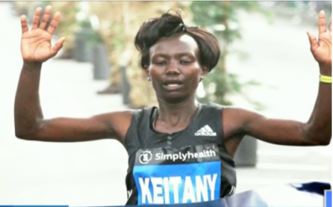 Women sport news - Mary Keitany wins the Great North Run