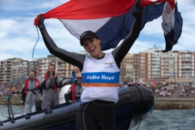 Women sport news -  Dutch Gold In Laser Radial At Santander 2014 ISAF Worlds