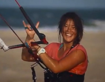 kite women Womans kite boarding group lessons are a great way to learn how to kiteboard safely and efficiently on south padre island, texas.