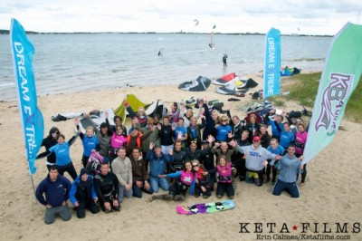 Women sport news -  New York brings luxury and flair to the kiteboarding clinic