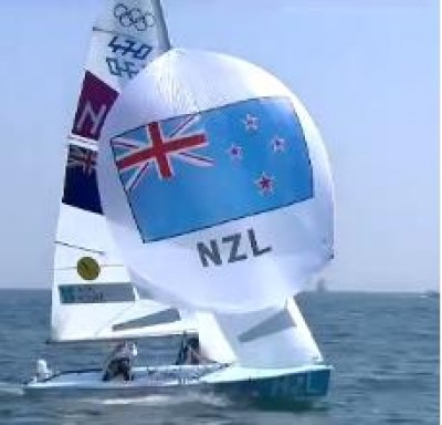 Women sport news -  New Zealand's Jo Aleh and Olivia Powrie won the race to clinch gold.