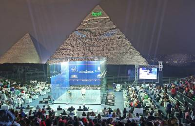 Women sport news - PSA Women's World Championship To Take Place In Front Of Great Pyramid Of Giza