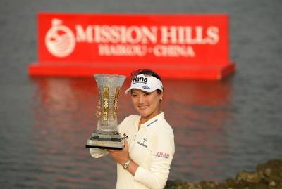 Women sport news - So Yeon Ryu on top of the world